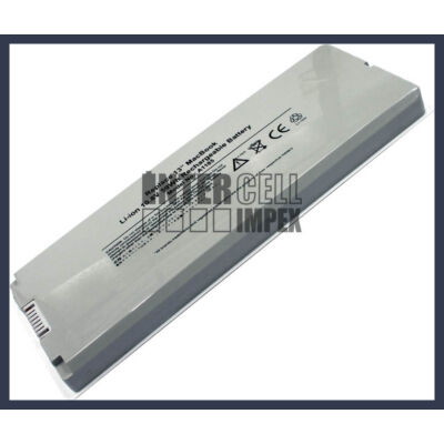 Apple MacBook 13 inch Series A1185 5200mAh 6 cella notebook/laptop akku/akkumulátor fehér utángyártott