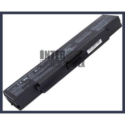 Sony VAIO VGN-AR CR NR series VGP-BPS9 4400mAh 6 cella notebook/laptop akku/akkumulátor fekete utángyártott