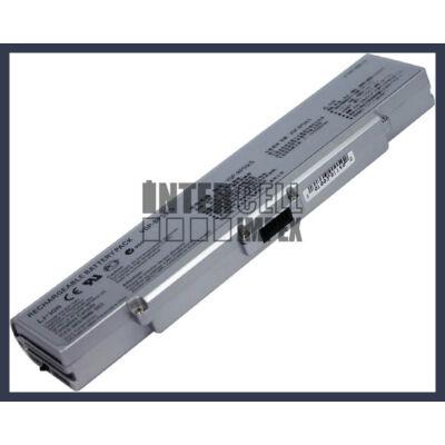 Sony VAIO VGN-AR CR NR series VGP-BPS9 4400mAh 6 cella notebook/laptop akku/akkumulátor ezüst utángyártott