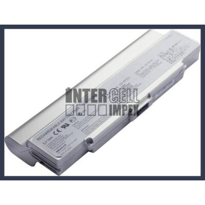 Sony VAIO VGN-AR CR NR series VGP-BPS9 8800mAh 12 cella notebook/laptop akku/akkumulátor ezüst utángyártott
