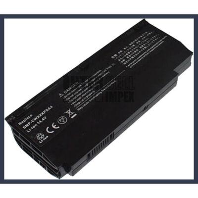 Fujitsu LifeBook M1010 Amilo Mini Ui 3520 series SMP-CWXXXPSA4 2200mAh 4 cella notebook/laptop akku/akkumulátor utángyártott