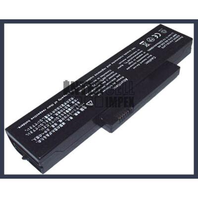 Fujitsu V6515 V6555 4400mAh 6 cella notebook/laptop akku/akkumulátor utángyártott
