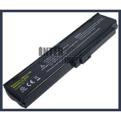 LG LW20 Series LB52114B 4400mAh 6 cella notebook/laptop akku/akkumulátor utángyártott
