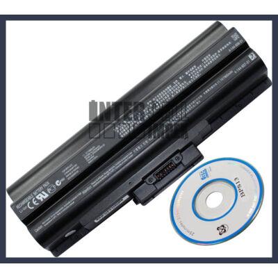 Sony Vaio FW CS VGN TX Series VGP-BPS13 6600mAh 9 cella notebook/laptop akku/akkumulátor utángyártott