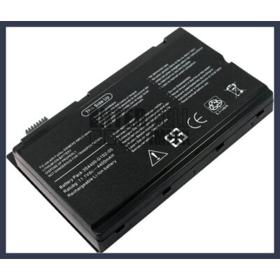 Fujitsu Amilo Pi2530 Pi2450 Pi2550 Xi2428 Xi2528 Xi2550 One C7000 C7002 C7010 series 3S4400-S1S5-05 4400mAh 6 cella notebook/laptop akku/akkumulátor utángyártott