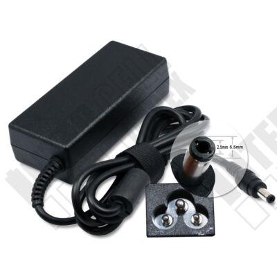 ASUS X51R  5.5*2.5mm 19V 3.42A 65W fekete notebook/laptop hálózati töltő/adapter utángyártott