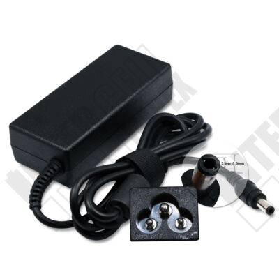 ASUS F6 Series 5.5*2.5mm 19V 3.95A 75W fekete notebook/laptop hálózati töltő/adapter utángyártott