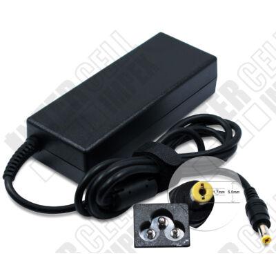 Acer TravelMate 520 Series 5.5*1.7mm 19V 4.74A 90W fekete notebook/laptop hálózati töltő/adapter utángyártott