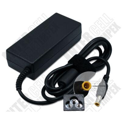 Samsung R528 5.5*3.0mm + pin 19V 3.15A 60W fekete notebook/laptop hálózati töltő/adapter utángyártott