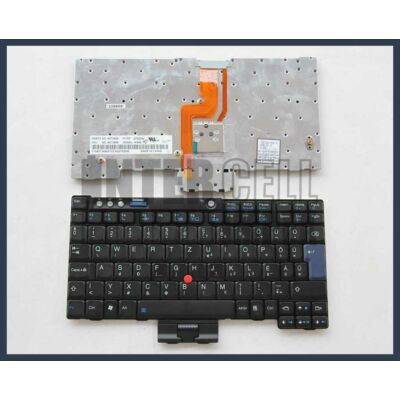 Lenovo IBM 42T3456 fekete magyar (HU) laptop/notebook billentyűzet