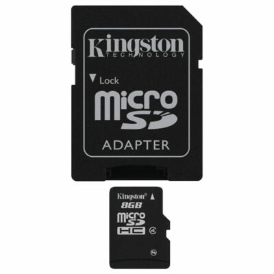 Kingston 16GB Micro SDHC Class 10 SD memóriakártya
