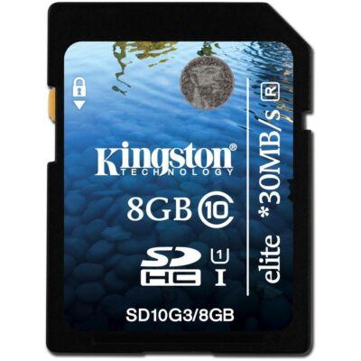 Kingston 8GB SDHC Class 10 SD memóriakártya