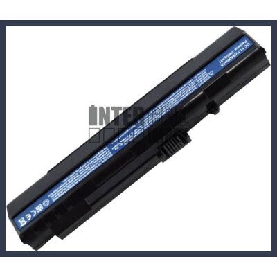Acer UM08A51 4400 mAh 6 cella fekete notebook/laptop akku/akkumulátor utángyártott