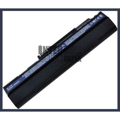 Acer Aspire One ZG5  6600 mAh 9 cella fekete notebook/laptop akku/akkumulátor utángyártott