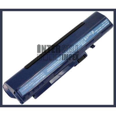 Acer One A110 A150 AOA110 AOA150 6600mAh 9 cella notebook/laptop akku/akkumulátor kék utángyártott