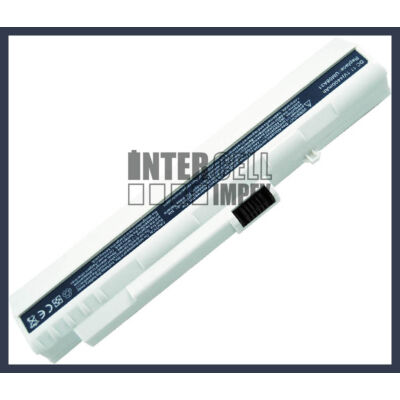 Acer One A110 A150 AOA110 AOA150 4400mAh 6 cella notebook/laptop akku/akkumulátor fehér utángyártott