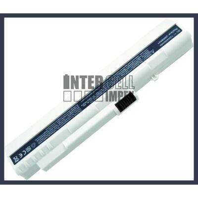 Acer UM08A51 4400 mAh 6 cella fehér notebook/laptop akku/akkumulátor utángyártott
