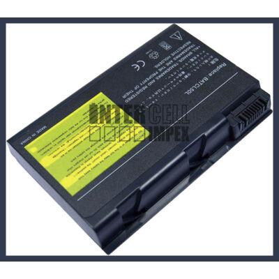 Acer Aspire 9010 Travelmate 4050 4150 4650 BATCL50L 4400mAh 8 cella notebook/laptop akku/akkumulátor utángyártott