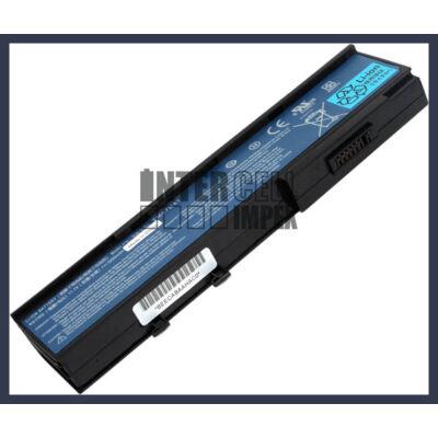 Acer TravelMate 3250 4400 mAh 6 cella fekete notebook/laptop akku/akkumulátor utángyártott