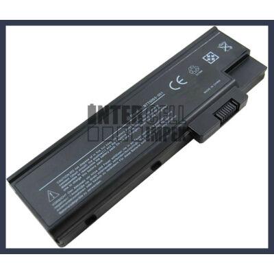 Acer TravelMate 2300 Extensa 2300 Aspire 1410 4400mAh 8 cella notebook/laptop akku/akkumulátor utángyártott
