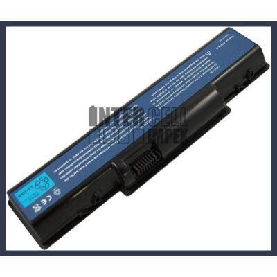Acer Aspire 4315-2904 4400 mAh 6 cella fekete notebook/laptop akku/akkumulátor utángyártott