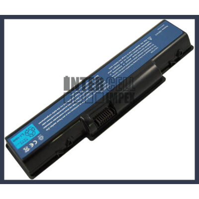 Acer Aspire 4715Z 4400 mAh 6 cella fekete notebook/laptop akku/akkumulátor utángyártott