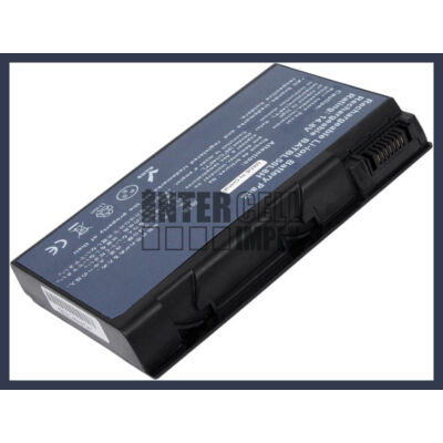 Acer Aspire 5101 4400 mAh 8 cella fekete notebook/laptop akku/akkumulátor utángyártott