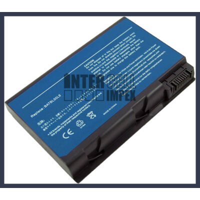 Acer Aspire 9810 Series 4400 mAh 6 cella fekete notebook/laptop akku/akkumulátor utángyártott