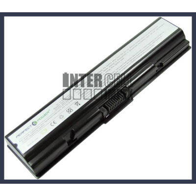 Toshiba PA3534U-1BRS 4400 mAh 6 cella fekete notebook/laptop akku/akkumulátor utángyártott