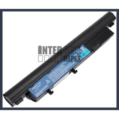 Acer Aspire 3810T 4810T 5810T TravelMate Timeline 8371 8471 8571 6600mAh 9 cella notebook/laptop akku/akkumulátor fekete utángyártott