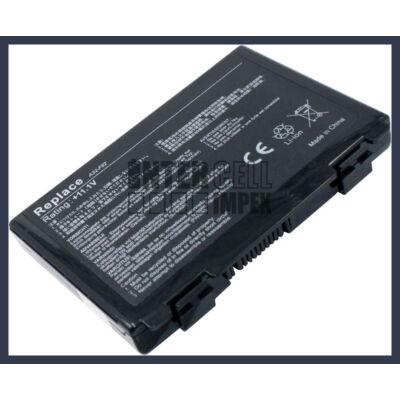 ASUS K50IJ 4400 mAh 6 cella fekete notebook/laptop akku/akkumulátor utángyártott