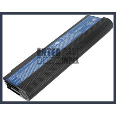 Acer TravelMate 2420A 6600 mAh 9 cella fekete notebook/laptop akku/akkumulátor utángyártott
