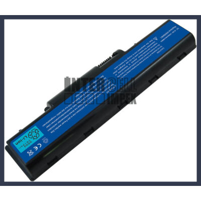 Acer eMachines E630 4400 mAh 6 cella fekete notebook/laptop akku/akkumulátor utángyártott
