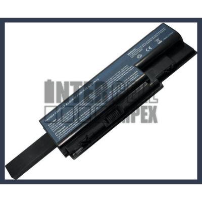 Acer BT.00804.020 6600 mAh 9 cella fekete notebook/laptop akku/akkumulátor utángyártott