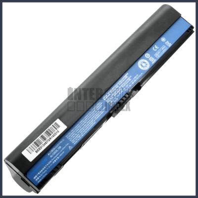Acer AL12X32 4400 mAh 6 cella fekete notebook/laptop akku/akkumulátor utángyártott