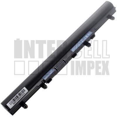 Acer Aspire V5 Touch Series 2200 mAh 4 cella fekete notebook/laptop akku/akkumulátor utángyártott