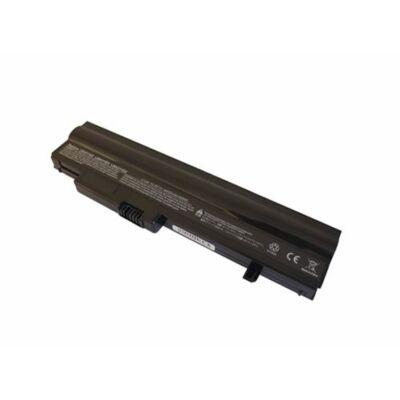 LG LB6411EH 4400 mAh 6 cella fekete notebook/laptop akku/akkumulátor utángyártott
