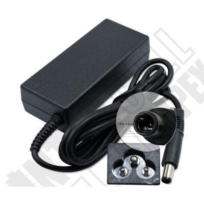 HP 384019-001 7.4*5.0mm + 0.6mm pin 18.5V 3.5A 65W fekete notebook/laptop hálózati töltő/adapter utángyártott