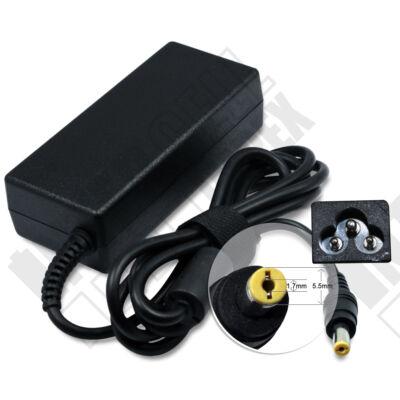 Acer  5.5*1.7mm 19V 3.42A 65W fekete notebook/laptop hálózati töltő/adapter utángyártott