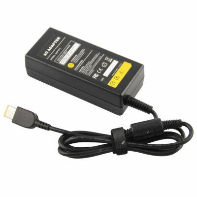 Lenovo IdeaPad U530 Touch rectangle shape (szögletes) 20V 3.25A 65W fekete notebook/laptop hálózati töltő/adapter utángyártott