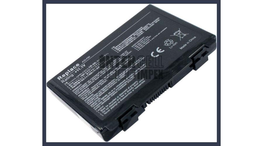 ca3bfe8f2642 ASUS K40 series 4400 mAh 6 cella fekete notebook/laptop akku/akkumulátor  utángyártott